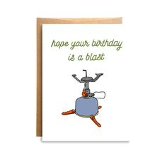 Blast Birthday Card