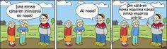 Minkä tähären ihimisellä on napa? Avon, Peanuts Comics, Family Guy, Guys, Fictional Characters, Fantasy Characters, Sons, Boys, Griffins