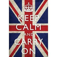Keep Calm posters: Keep Calm And Carry On giant poster. This version the popular Keep Calm And carry On poster is printed on a Union Jack background. The original poster was designed by the British Government in 1939 to be used in Union Jack, Keep Calm Carry On, Keep Calm Posters, Flag Art, Design Graphique, Vintage Advertisements, Decir No, Illustration, Poster Prints