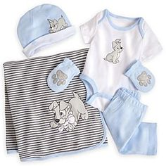 Disney Tramp Welcome Home Set for Baby | Disney StoreTramp Welcome Home Set for Baby - Bundle up your little pup in our snuggly five-piece Tramp Welcome Home Set inspired by the classic Lady and the Tramp. With a Disney Cuddly Bodysuit, Pants, Hat, Mittens, and Blanket, we've got your baby covered from head to toe! See more