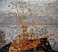 Olga Goulandris. Mosaic abstract