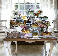 Com receitas de família e decoração que remete ao sul da França, este brunch é convite para uma tarde preguiçosa