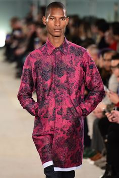 CASELY-HAYFORD AW16 SHOW at London Collections Men