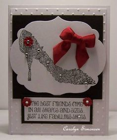 SC399 Fabulous Shoes by snowmanqueen - Cards and Paper Crafts at Splitcoaststampers