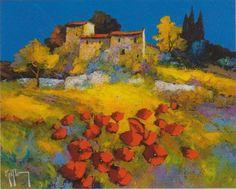 Peintre Galerie D'art, Landscape Paintings, Landscapes, Oeuvre D'art, Les Oeuvres, Places To Visit, My Arts, Watercolor, Wallis