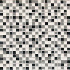 Trendy mosaics by Dalatile.  It is durable enough to be used in light commercial and residential and some exterior applications as well. Comes in gernerally 4x4 tiles and has different finishes. Different applications are floor/ patios, walls/ backsplash,countertops, and pool linings. Depending on the finish not all of these are suitable for these applications.  A thin-set latex is recommended for installation.