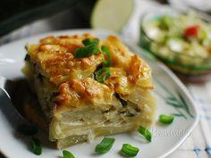 Zapekaná cuketa 2 Lasagna, Quiche, Sandwiches, Vegetables, Breakfast, Ethnic Recipes, Fit, Morning Coffee, Shape