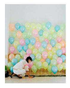 DIY photo booth do any colors for theme #HB2Me #bendelbdaybash