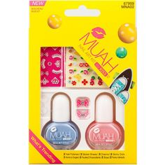 Kiss Muah Nail Art Kit #MNA02   $4.49    Visit www.BarberSalon.com One stop shopping for Professional Barber Supplies, Salon Supplies, Hair & Wigs, Professional Product. GUARANTEE LOW PRICES!!! #barbersupply #barbersupplies #salonsupply #salonsupplies #beautysupply #beautysupplies #barber #salon #hair #wig #deals #Kiss #Muah #Nail #Art #Kit #MNA02