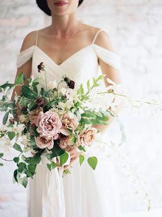 Gorgeous bridal bouquet by Ariel Dearie.
