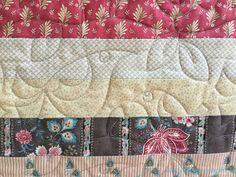 Jelly roll quilt with ginger stars pantograph fabadashery longarm quilting service by frances meredith based in the uk serving quilters locally in bristol pronofoot35fo Images