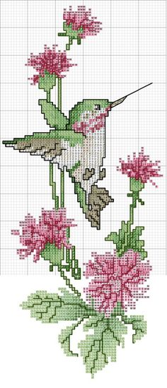 I would like to use this as a crochet graph pattern. Cross Stitch Bookmarks, Cross Stitch Bird, Cross Stitch Animals, Cross Stitch Flowers, Counted Cross Stitch Patterns, Cross Stitch Charts, Cross Stitch Designs, Cross Stitching, Cross Stitch Embroidery