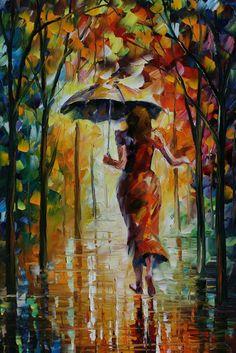 Artist Leonid Afremov - I love this painting