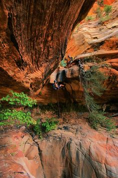 Canyoneering Spry Canyon - Zion National Park