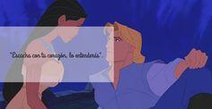 Las películas de Disney nos han cautivado a todas desde pequeñas. Podemos mirarlas una y otra vez, sus historias son conmovedoras, lindas y divertidas. Pero también su contenido nos invita a reflexionar sobre muchas cosas como por ejemplo: el Amor.¡Mira las 11 frases de amor de Disney que vale la pena volver a