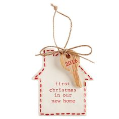 Personalized First Christmas In New Home Ornament | Z163894 ...
