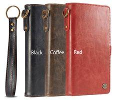 CaseMe iPhone 7 Wallet Detachable Wrist Strap Case