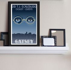 Dr TJ Eckleburg  Customer / The Great Gatsby by FADEGrafix on Etsy, $7.95