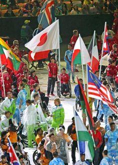 リオパラリンピックが閉幕 大会旗は2020東京へ #パラリンピック