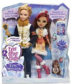 Ever After High Epic Winter Daring Charming and Rosabella Beauty 2-pack. These dolls are prototypes, so chances are, Daring is not going to look like Alistair in a jacket. Credit: Ever After High dolls on Facebook