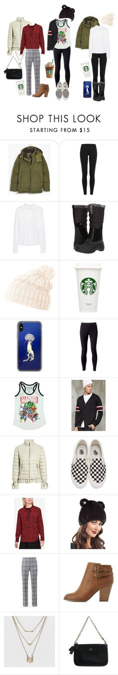 """""""Got To See My Beautiful Babes :) <3"""" by xxx-marshmallow-of-death-xxx ❤ liked on Polyvore featuring Madewell, Polo Ralph Lauren, H&M, The North Face, Helly Hansen, Jockey, Marvel, 21 Men, Bernardo and Vans"""