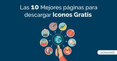 ¿Estás buscando ICONOS GRATIS? Una recopilación con las mejores páginas para descargar iconos vectoriales en formato SVG, PSD, PNG, y usar en tu diseño web.