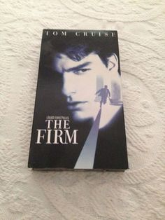 The Firm VHS 1993 Tom Cruise Jeanne Tripplehorn Sydney R Dramas Action NTSC