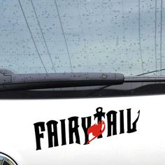 New Motorcycle car styling Fairy Tail DIE-CUT Waterproof Vinyl Decal Sticker Funny Car Stickers