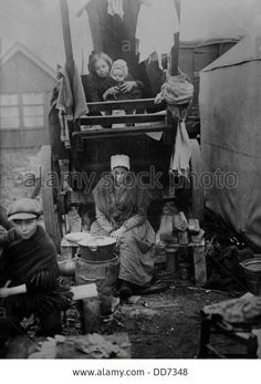 World War 1. Belgian refugees in the Bergen Op Zoom refugee camp in Holland during World War I. German invaders allowed some women and children to evacuate to Holland but kept the men, who were put to forced labor. 1914-15.
