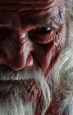 Old Champa Man