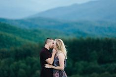 Engagement Photos at Max Patch | Erin Morrison Photography www.erinmorrisonphotography.com