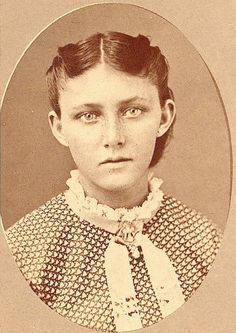 "Catherine ""Kate"" German, who was taken captive with her sisters, Sophia, Julia, and Adelaide, by Cheyenne Indians after their family (mother, father, 3 siblings) were killed in Kansas in 1874. Only the four youngest, Sophia, Catherine, Julia, and Adelaide, were spared and taken captive. The two youngest, Julia and Adelaide, age 7 and 5, were subsequently abandoned on the prairie in what is now the Texas panhandle. Sophia and Catherine were kept by their Cheyenne captors until rescued in…"