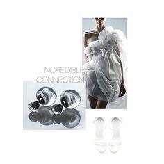 Glass earrings / double earrings/ 27JEWELRY / designer jewelry /