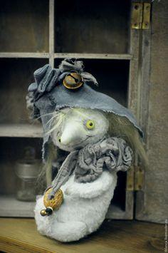 Handmade cute Teddy toy / Нокл PogoPops - голубой, тедди нокл, нокл, тедди персонаж, сказка, чудо, диво