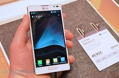LG Optimus L9 handson