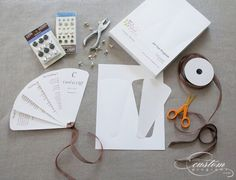 DIY: Wedding Program Fan. This is a big maybe, autumnal though @Robin Schindler