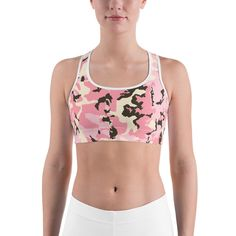 2c78bc536244c All-over-print Sports bra - Patriotic