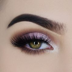 """Shimmering Pink Eye Look Using the Jouer Cosmetics """"Mermaid Palette"""" *Click Pic…"""