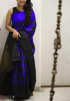 Wedding Silk Sarees Online | Buy Kanchipuram Wedding Sarees | Banarasi - House of Ayana Jute Silk Saree, Kora Silk Sarees, Saree Styles, Blouse Styles, Beautiful Saree, Beautiful Dresses, Skirt Fashion, Women's Fashion, Uppada Pattu Sarees
