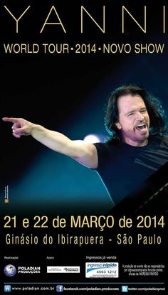 Yanni I have to see him.