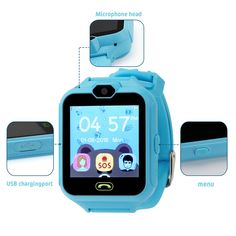 Aolee Kids Phone Smart Watch Games Watch For 4 Clock Games, Best Gaming Headset, What Do You Meme, Free Sims, Adult Party Games, Caller Id, Game & Watch, Male To Male, Best Phone
