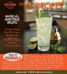 Magical Mystery Mojito Recipe! #TryToRockIt #HomeMade #Cocktail