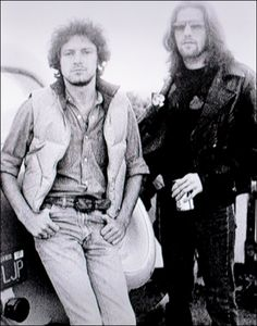 Don Henley and Glenn Frey