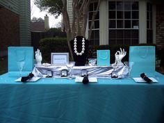 Breakfast a Tiffany's Themed Party