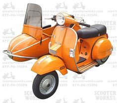 Perfect Family Vehicle 1968 Vespa 150 Motor Scooter