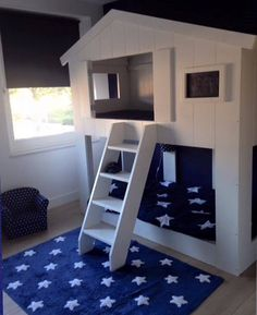 Stapelbed Buurthuis Wit Bunk Bed Designs, Childrens Beds, Bed Frame, Bunk Beds, Kids Bedroom, Architecture, House, Furniture, Home Decor