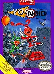 Yo Noid (Nintendo Entertainment System, for sale online Vintage Video Games, Classic Video Games, Retro Video Games, Video Game News, Retro Games, Ps4, Playstation, Game Boy, Nes Games