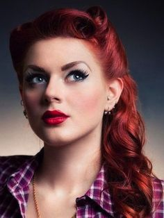 Vintage hairstyle 20 Fabulous Medium Length Hairstyles for Girls pictures