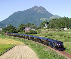 Seven Stars in Kyushu, Japan The seven-carriage, 14-suite train combines high-tech amenities wrapped in all the period charm of an Orient Express: fully automated toilets meet wood-paneled interiors painstakingly crafted by traditional artisans from rich rosewood and walnut. jrkyushu.co.jp