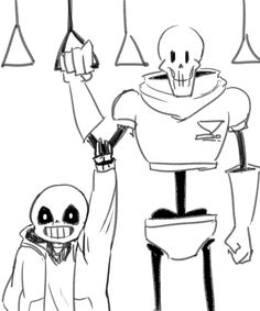 sans and papyrus                                                                                                                                                                                 More